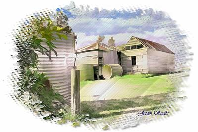 Photograph - Do-00027 Old Cottage by Digital Oil