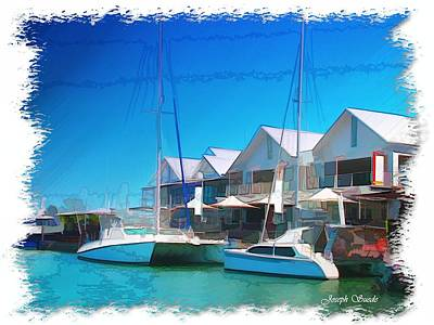 Photograph - Do-00047 Cullen Bay In Darwin by Digital Oil