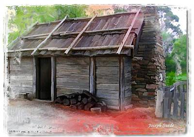 Photograph - Do-00051 Old Cabin - Sovereign Hill by Digital Oil