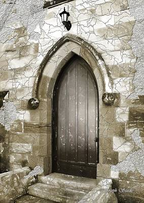 Art Print featuring the photograph Do-00055 Chapels Door In Morpeth Village by Digital Oil