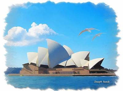 Photograph - Do-00061 Sydney Opera House by Digital Oil