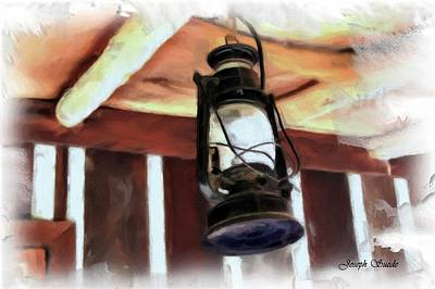 Impressionist Landscapes - DO-00064 Lantern by Digital Oil