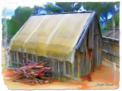 Photograph - Do-00069 Small Hut by Digital Oil
