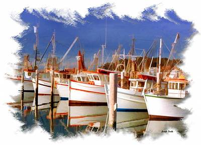 Photograph - Do-00096 Boats In Nelson Bay Early 90s by Digital Oil