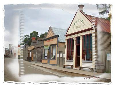 Photograph - Do-00098 Town Centre - Sovereign Hill by Digital Oil