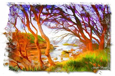 Photograph - Do-00102 Sea View In Terrigal by Digital Oil