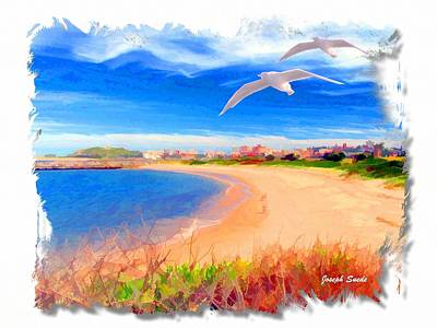 Photograph - Do-00104 Beach In Newcastle by Digital Oil