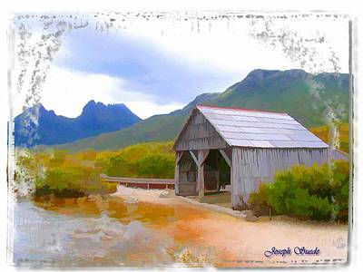 Photograph - Do-00107 Boat House by Digital Oil