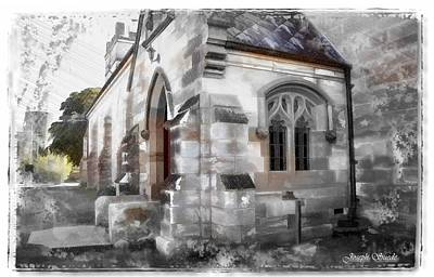 Photograph - Do-00116 Church In Morpeth by Digital Oil