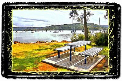 Photograph - Do-00126 Picnic Spot by Digital Oil