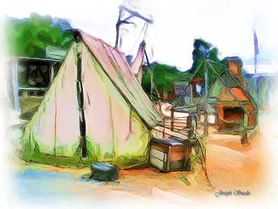 Photograph - Do-00139 Tent by Digital Oil