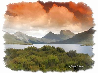 Photograph - Do-00140 Cradle Mountains by Digital Oil