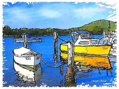 Photograph - Do-00147 Resting Boats by Digital Oil