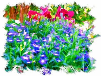 Photograph - Do-00221 Flowers by Digital Oil