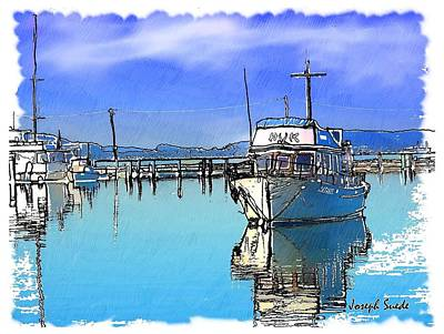 Photograph - Do-00231 Hvk Boat Gosford by Digital Oil