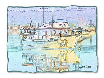 Photograph - Do-00232 Hvk Boat Pastel by Digital Oil