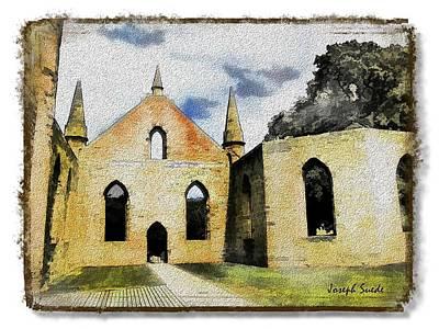 Photograph - Do-00245 Church In Port Arthur by Digital Oil
