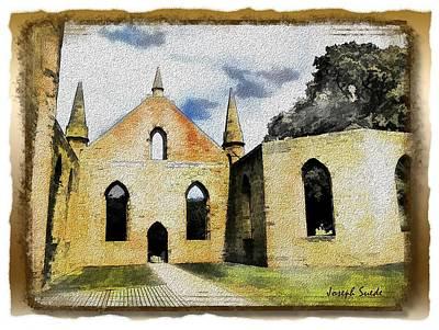 Photograph - Do-00247 Church At Port Arthur by Digital Oil
