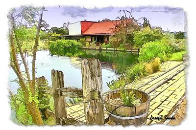 Photograph - Do-00251 A Farm In Hunter Valley by Digital Oil