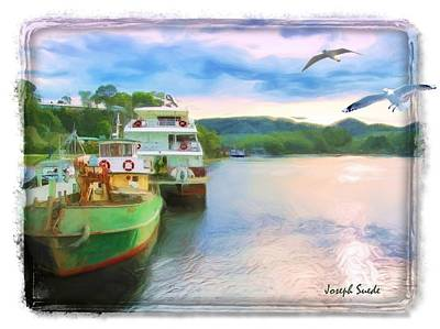 Photograph - Do-00260 Strahan Port by Digital Oil