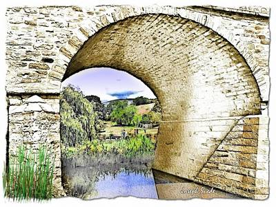 Photograph - Do-00262 Richmond Bridge by Digital Oil