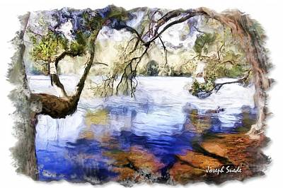 Photograph - Do-00282 Cockrone Trees by Digital Oil