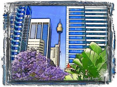 Photograph - Do-00285 Sydney Centre Tower In Spring by Digital Oil