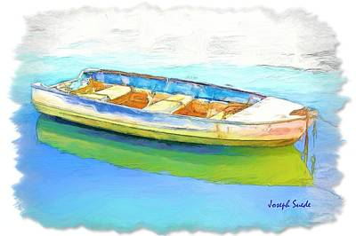 Photograph - Do-00291 Boat In Pastel At Hardys Bay by Digital Oil