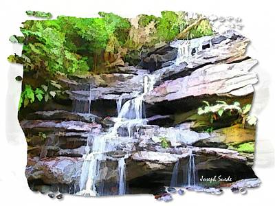 Photograph - Do-00292 Somersby Waterfall by Digital Oil