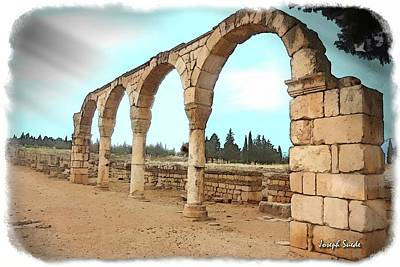 Photograph - Do-00304 Arcades In Anjar by Digital Oil