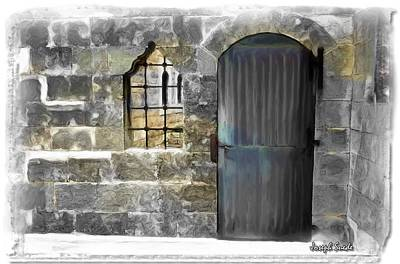 Photograph - Do-00325 A Door And A Window by Digital Oil