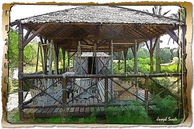 Photograph - Do-00341 Cabin Outdoor Bois Des Pins by Digital Oil