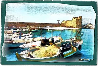 Photograph - Do-00346 Byblos Port by Digital Oil