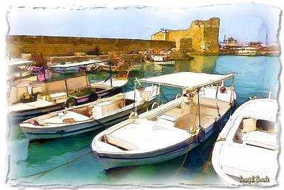 Photograph - Do-00350 Byblos Port by Digital Oil