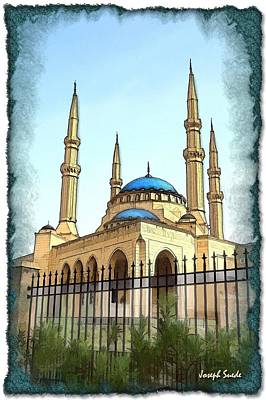 Photograph - Do-00361 Mohammad Al-amin Mosque by Digital Oil