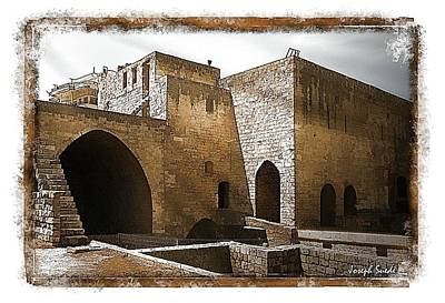Do-00422 St Gilles Citadelle Art Print