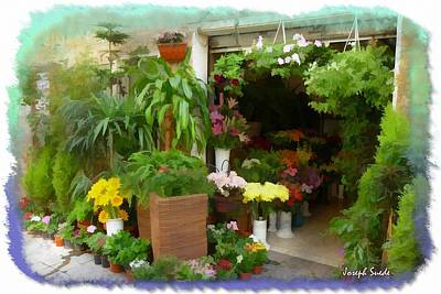 Photograph - Do-00433 Florist In Gemmayzeh by Digital Oil