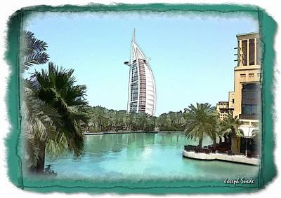 Photograph - Do-00464 View Of Burj Al-arab by Digital Oil