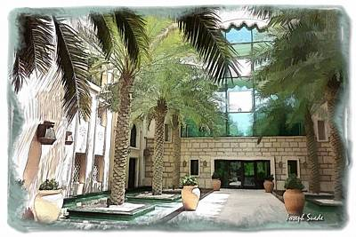 Photograph - Do-00466 Al Qasr Hotels by Digital Oil