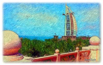 Photograph - Do-00467 Burj Al-arab by Digital Oil