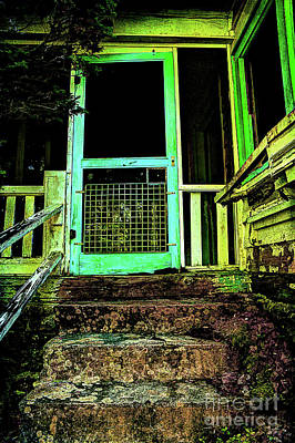Abandoned Elkmont Wall Art - Photograph - Do Any Spirits Still Live Here by Michael Eingle