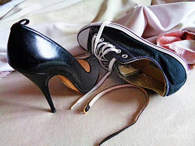 Sneaker Love Photograph - Do Not Disturb, Please by Don Pedro De Gracia