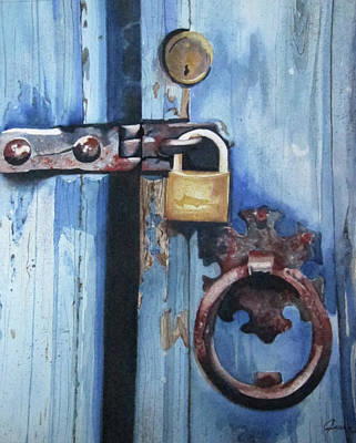 Painting - Do Not Enter by Jean Sumption