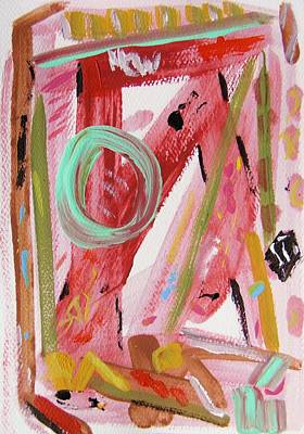 Abstract Expressionism Drawing - Do Not Fall Asleep At The Wheel Of Life by Mary Carol Williams