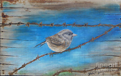 Flock Of Bird Drawing - Do Not Fear by Stephanie  Skeem