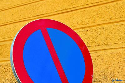 Photograph - Do Not by Joe Bonita