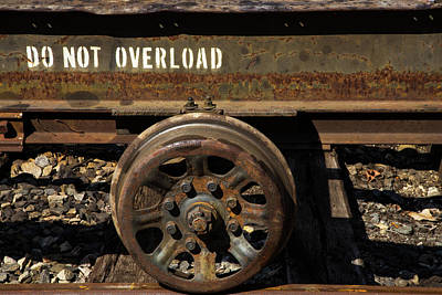 Photograph - Do Not Overload by Karol Livote