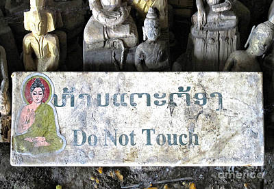 Photograph - Do Not Touch by Ethna Gillespie