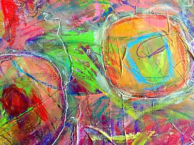 Painting - Do Over In Color 3 by Shelley Graham Turner