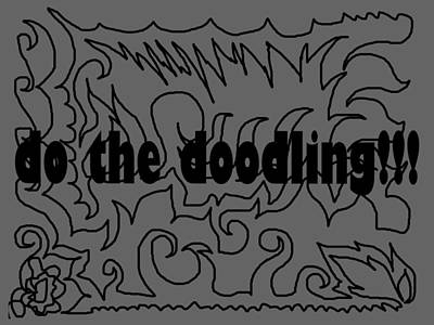 Digital Art - Do The Doodling by Pratyasha Nithin